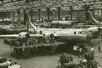 Georgia in World War II: The Bell Bomber Plant